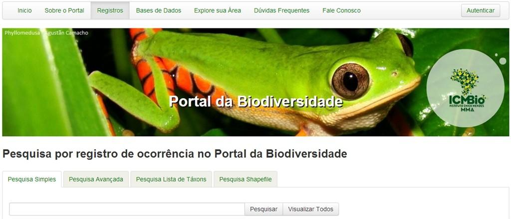 portal da biodiversidade