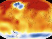 NASA confirma ano de 2015 como o mais quente já registrado