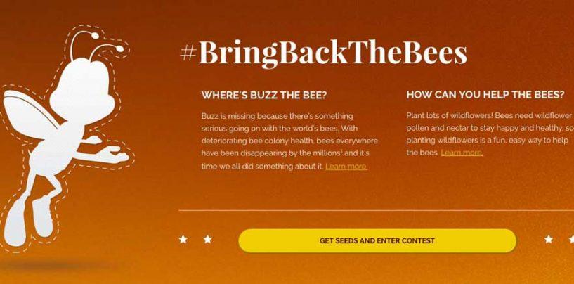 Embalagens de cereais chamam atenção para a causa das abelhas