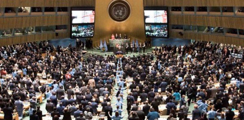 Países assinam o Acordo de Paris