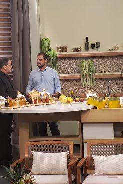 Abelhas e mel na TV Gazeta